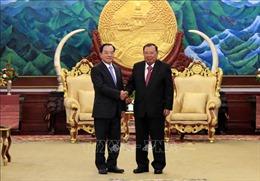 Tăng cường hợp tác giữa hai Văn phòng Chủ tịch nước Việt Nam và Lào