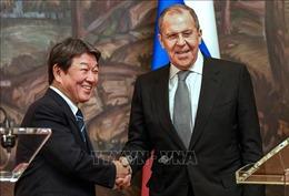 Ngoại trưởngNga, Nhật Bản thảo luận vấn đề tranh chấp lãnh thổ