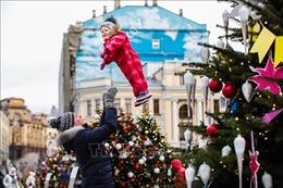 Rộn ràng Giáng sinh trên khắp thế giới