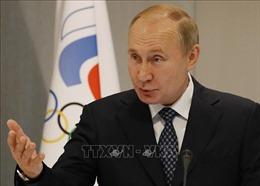 Tổng thống Nga: Lệnh cấm của WADA đi ngược lại Hiến chương Olympic