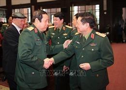 Gặp mặt cán bộ cao cấp Quân đội nghỉ hưu, nghỉ công tác khu vực phía Bắc