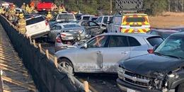 70 ô tô đâm liên hoàn, 51 người nhập viện