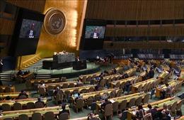 ĐHĐ LHQ thông qua các nghị quyết ngăn chặn vũ khí hạt nhân và quân sự hóa vũ trụ