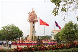 Khánh thành Đài Hữu nghị Việt Nam - Campuchia tỉnh Kampong Cham