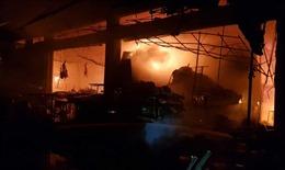 Hỏa hoạn thiêu rụi 40 cửa hàng tại chợ Đề Thám,Thái Bình