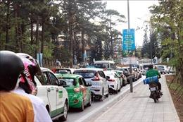 Tắc đường nghiêm trọng tại thành phố Đà Lạt