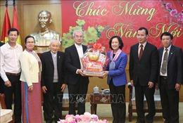 Trưởng ban Dân vận Trung ương tiếp Đoàn Ủy ban Đoàn kết Công giáo Việt Nam