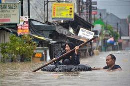 Đi thăm vùng lũ, máy bay chở Tổng thống Indonesia phải hạ cánh khẩn cấp