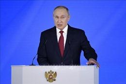 Tổng thống Nga đọc Thông điệp Liên bang năm 2020