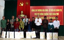 Phó Thủ tướng Thường trực Trương Hòa Bình thăm và tặng quà Tết tại Quảng Trị