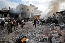 Giao tranh ác liệt tại Idlib làm ít nhất 39 người thiệt mạng