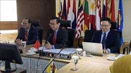 Việt Nam chủ trì cuộc họp Ủy ban Điều phối Kết nối ASEAN