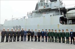 Tàu Hải quân Hoàng gia Anh HMS Enterprise thăm thành phố Hải Phòng