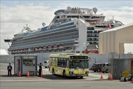 Thủy thủ đoàn trên tàu Diamond Princess bắt đầu lên bờ