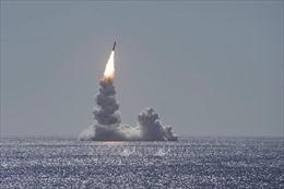 Mỹ phóng thử tên lửa đạn đạo Trident II ở Đại Tây Dương