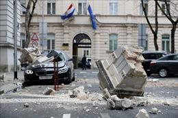 Động đất mạnh thủ đô Zagreb của Croatia