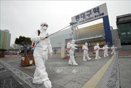 Thêm 476 ca nhiễm COVID-19 tại Hàn Quốc, nâng tổng số ca nhiễm lên 4.212