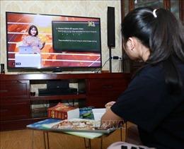 Hà Nội dạy học trực tuyến trên truyền hình cho học sinh lớp 9 và lớp 12