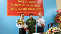 Bộ Công an công khai xin lỗi hai doanh nhân bị bắt giam trái pháp luật