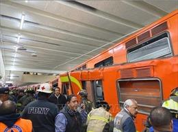 Tàu điện ngầm đâm nhau tại Mexico, ít nhất 1 người thiệt mạng và 41 người bị thương