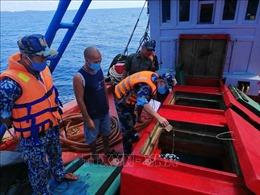 Phát hiện vụ vận chuyển hơn 50.000 lít dầu D.O trái phép trên vùng biển Tây Nam