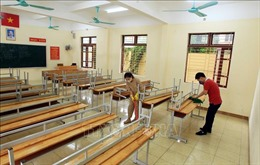 Chuẩn bị các điều kiện bảo đảm an toàn cho học sinh đi học trở lại