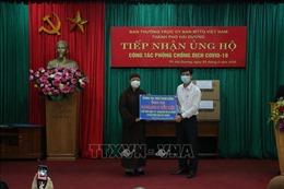 Người dân và các chức sắc tôn giáo hăng hái ủng hộ phòng, chống dịch COVID-19