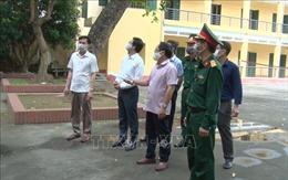 Khẩn cấp khoanh vùng, phòng chống dịch COVID-19 tại thôn Chí Trung ở Hưng Yên