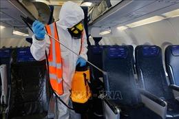 Các biện pháp vệ sinh trên máy bay tiêu diệt hiệu quả virus gây bệnh COVID-19
