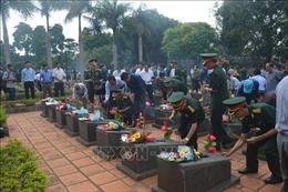 Gia Lai: Truy điệu và an táng 16 hài cốt liệt sĩ hy sinh tại Campuchia