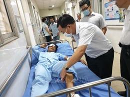 Hỗ trợ các nạn nhân vụ sập công trình xây dựng tại Khu công nghiệp Giang Điền