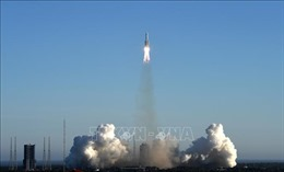 Tên lửa Trường Chinh-5B thế hệ mới đã hạ cánh