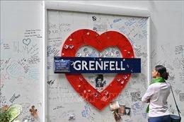 Anh tưởng niệm 3 năm vụ cháy tòa nhà Grenfell Tower