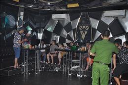 Phát hiện 99 đối tượng sử dụng ma túy trong quán bar và quán karaoke