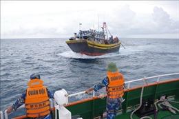 Lập biên bản 21 tàu cá vi phạm hành lang an toàn các công trình dầu khí trên biển