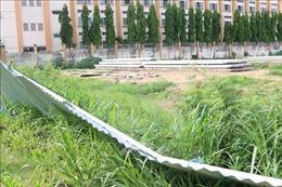 Nhà thầu 'nhập nhằng', dự án trường tiểu học bỏ hoang