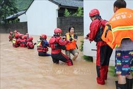 Trung Quốc kích hoạt phản ứng cấp 4 nhằm ứng phó với mưa bão