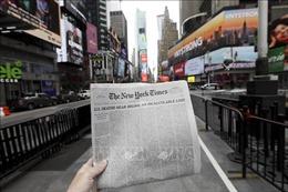 Báo New York Times rút khỏi ứng dụng đọc tin Apple News