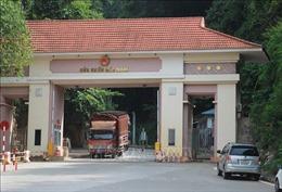 Hoạt động xuất nhập khẩu tại cửa khẩu phụ Cốc Nam vẫn bình thường