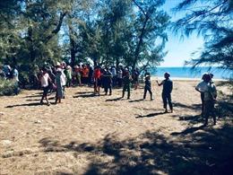 Tìm thấy thi thể nam sinh bị sóng biển cuốn trôi tại Quảng Bình