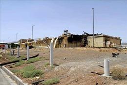 Iran tuyên bố về nguyên nhân sự cố tại cơ sở hạt nhân Natanz
