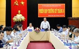Ông Nguyễn Tăng Bính phụ trách, xử lý công việc thuộc thẩm quyền của Chủ tịch UBND tỉnh Quảng Ngãi