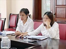 Chấm dứt hợp đồng lao động đối với hai cá nhân mạo danh nhà báo