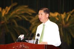 Tạm đình chỉ tư cách đại biểu HĐND TP Hồ Chí Minh đối với ông Trần Vĩnh Tuyến