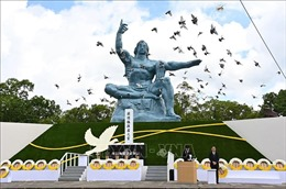 Thành phố Nagasaki tổ chức lễ tưởng niệm 75 năm Mỹ ném bom nguyên tử