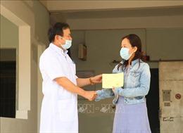 Bệnh nhân COVID-19 số 601 được điều trị khỏi bệnh và xuất viện