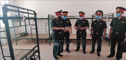 Bộ Tư lệnh Thủ đô Hà Nội sẵn sàng tiếp nhận và tổ chức cách ly công dân về từ Đà Nẵng
