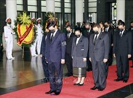 Lãnh đạo các nước, các tổ chức quốc tế, các đoàn ngoại giao đến viếng nguyên Tổng Bí thư Lê Khả Phiêu