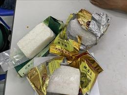 'Ngụy trang' 3 kg ma túy tổng hợp trong quả bí ngô