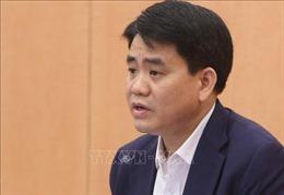 Bộ Chính trị đình chỉ chức vụ Phó Bí thư Thành ủy Hà Nội đối với ông Nguyễn Đức Chung